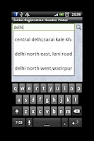 Screenshot of Number Plates India Checker