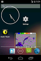 Screenshot of Weather Widget Czech Republic