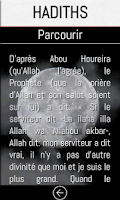 Screenshot of IslaMobile: l'islam, le coran