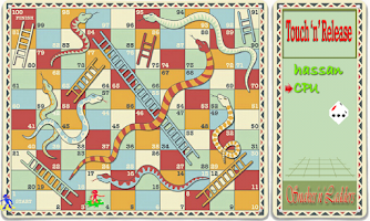 Screenshot of Snakes 'n' Ladders Classic