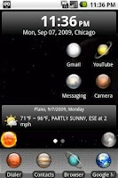 Screenshot of aHome Celestial Theme
