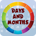 App Days & Months Flashcards apk for kindle fire