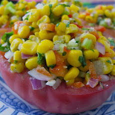 Big Bertha's Summer Corn And Herb Salad