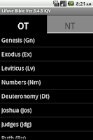 Screenshot of Lifove Bible