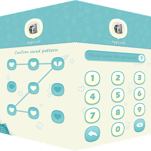 AppLock Theme Blue