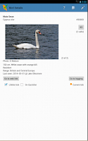 Screenshot of WP & UK Birding Checklist