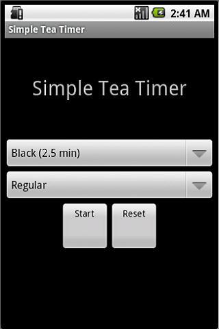 Simple Tea Timer