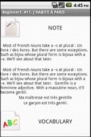 Screenshot of Frenchbyfrench - Beginner1