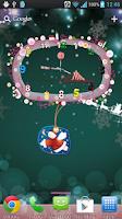 Screenshot of Christmas Theme Live Wallpaper