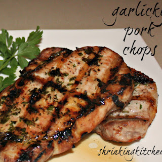 Garlicky Pork Chops