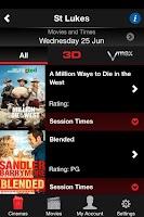 Screenshot of Event Cinemas NZ