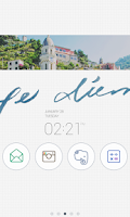 Screenshot of Carpe diem dodol theme