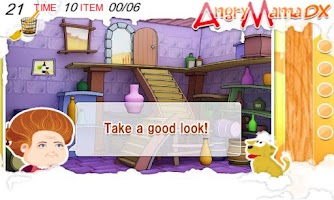 Screenshot of Angry Mama Deluxe:  Puzzle