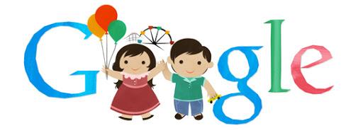 Google Doodle Children's Day 2013 (Korea)