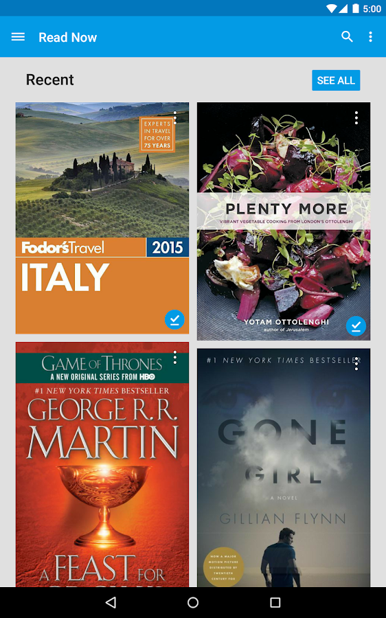 Google Play Books Screenshot 14