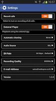Screenshot of MP3 Call Recorder