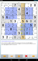 Screenshot of Sudoku 2Go Free