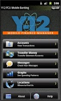 Screenshot of Y-12 FCU Mobile Banking