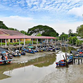 by Nik Deen - Transportation Boats