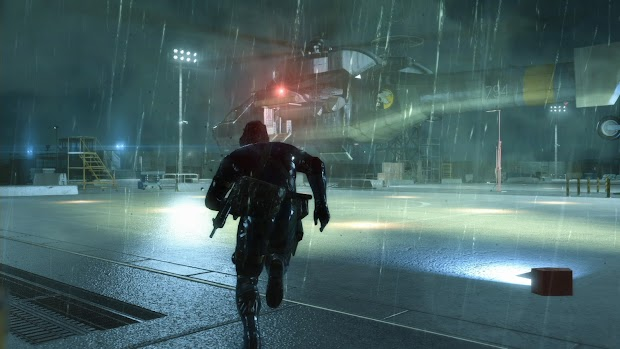 Kojima Productions built a special 80s filter for Metal Gear Solid V