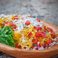 Spaghetti Squash with Tomatoes and Basil