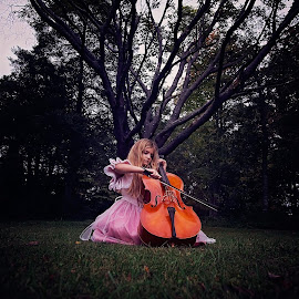 by Chrystal Olivero - Babies & Children Child Portraits ( music, girl, children, pink, kids, portrait )