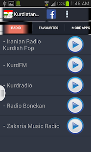 Kurdistan Radio News - screenshot