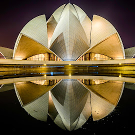 Bliss by Ankur Chaturvedi - Buildings & Architecture Places of Worship ( reflection, blue hour, artistic, travel, architecture )