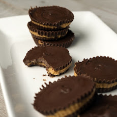 Party Grub: Homemade Peanut Butter Cups With Bourbon
