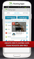 Screenshot of Floating Apps FREE - multitask