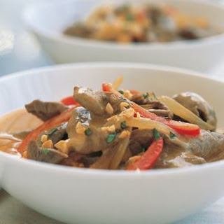 Quick Thai Red Curry Beef