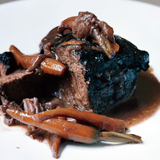 Beef Cheeks Braised in Red Wine with Orange Zest (Joues de Boeuf aux Agrumes)