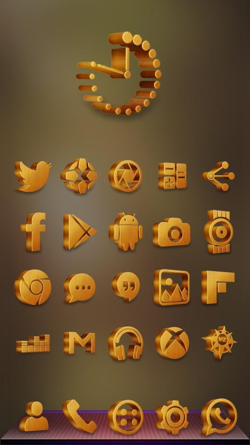 Grove Multilauncher Icon Pack Screenshot 3