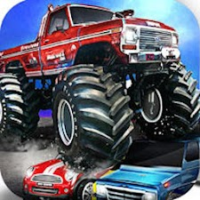 Monster Truck Car Crusher