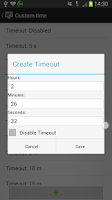 Screenshot of Screen Timeout (Ad Free)
