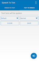 Screenshot of Speech To Text