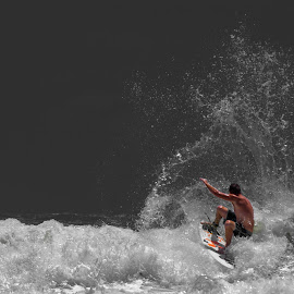 Surf 4 by Dru Edgcomb - Sports & Fitness Surfing ( surfing, waves, wave, surf, sun, jax beach )