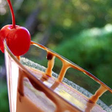 Chocolate Covered African Cherry Martini