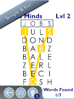 Screenshot of Word Find