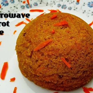 Microwave Wheat Carrot Cake