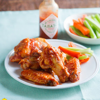 Healthy Tabasco Chicken Wings