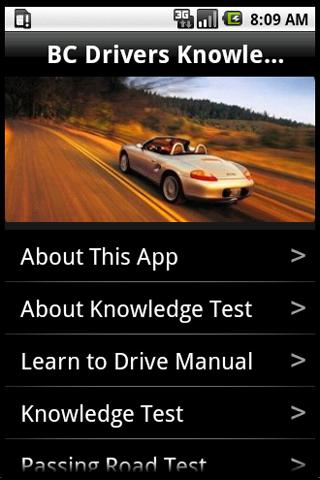 BC Drivers Licensing Test
