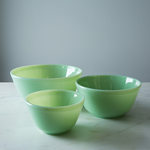 Mosser Glass 3-Piece Mixing Bowl Set