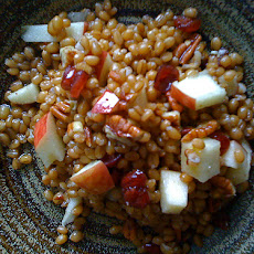Wheat Berry Salad With Apples and Cashews