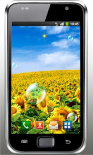 Sunflower Field live wallpaper - screenshot