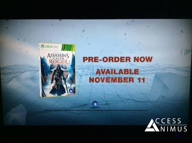 Assassin's Creed: Rogue trailer leaks indicating a November release