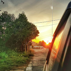 Sunrise  by WAN MOHD SHAHRIDHAN WAN MOHD ANWAR - Instagram & Mobile Android ( hdr, sunrise, morning, mobile )