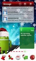 Screenshot of Christmas Theme