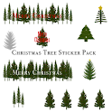 Christmas Tree Sticker Pack icon