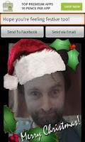 Screenshot of Christmas Card